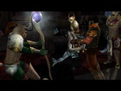A group of Sarafan Warrior Inquisitors ambush Janos.