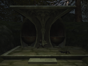The unnamed Shrine as it appears in Soul Reaver 2.