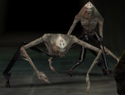 Two fledgling Zephonim in Legacy of Kain Soul Reaver.