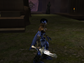 Raziel armed with a Short Sword in Soul Reaver 2