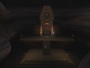 The Facade of the Air Forge as it appears in the Post-Blood Omen era of Soul Reaver 2