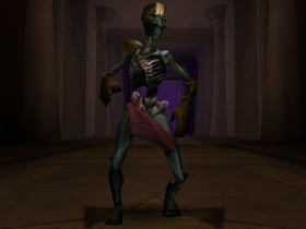 A Sorcerer Thrall in Soul Reaver 2.