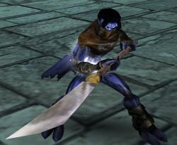 Raziel wielding a Pike in Soul Reaver 2