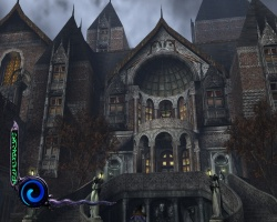 """Screenshot of Vorados Mansion Front Gate."