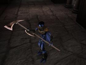 Raziel with a Halberd Soul Reaver 2