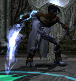 Raziel with the Material Reaver in Defiance