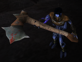 Raziel with the Axe Soul Reaver 2