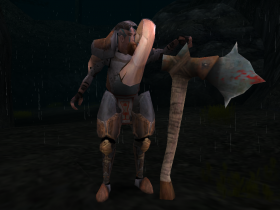 A Demon Hunter Axeman in SR2.