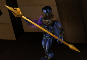 Raziel with a Light Forge Trident Soul Reaver 2