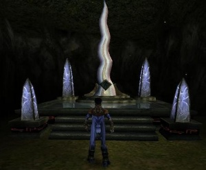 A 'Save Obelisk' in Soul Reaver 2.