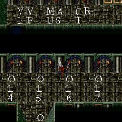 The Developer's Level Select area as it appears in Blood Omen
