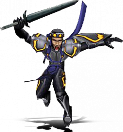 Promotional image of a Glyph Guard in Blood Omen 2