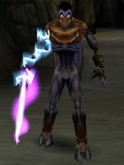 The Sound Reaver in the PC version of Legacy of Kain: Soul Reaver (enabled with the debug menu)