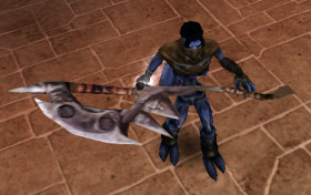 Raziel with the Air Forge Axe Soul Reaver 2