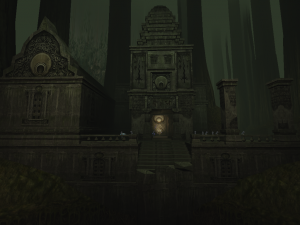 The Facade of the Dark Forge as it appears in the Pre-Blood Omen era of Soul Reaver 2