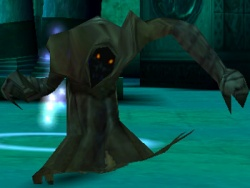 A Vampire Wraith in Legacy of Kain: Soul Reaver.