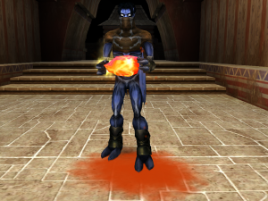 Raziel holding the Red Heart