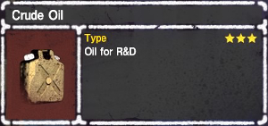 Crude Oil - Let It Die Wiki