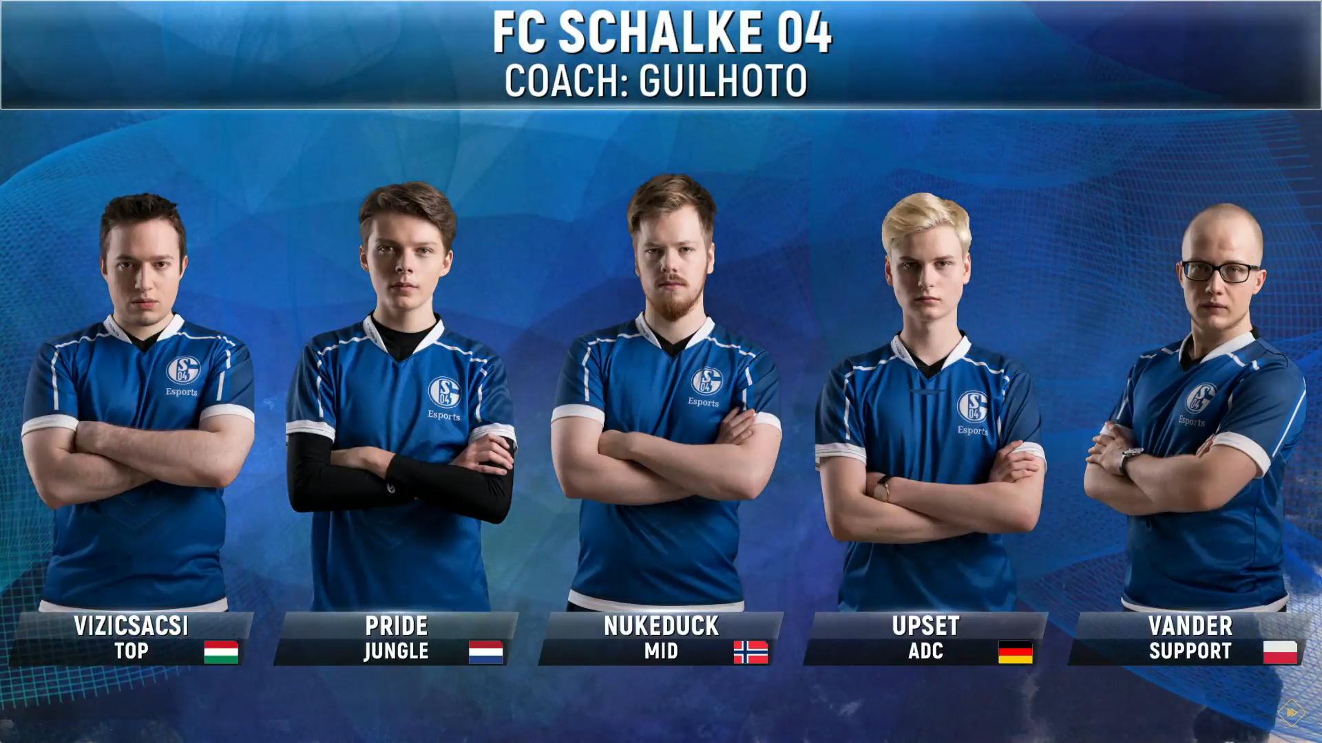 Schalke Esport Lol