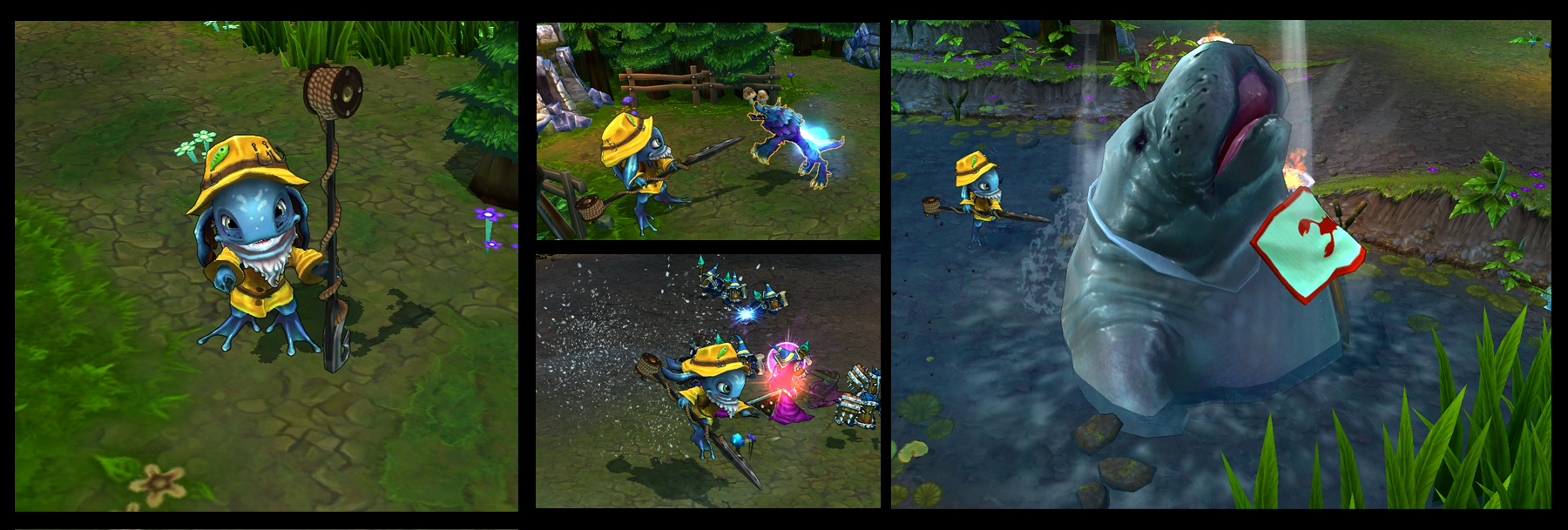 Image result for FIZZ HERO LOL ROLE IN GAMEPLAY