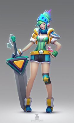 Riven/Gallery - Leaguepedia | League of Legends Esports Wiki