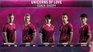 Unicorns of Love Roster 2018 Spring.png