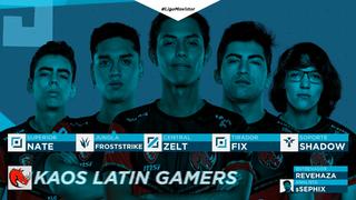 Kaos Latin Gamers Roster 2019 Opening.png