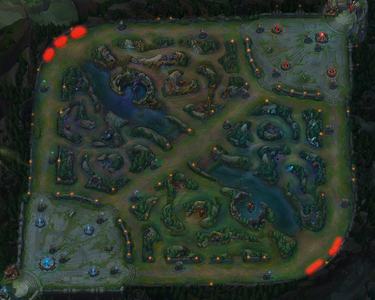 Mapa League Of Legends.New To League Map Features Important Brushes Leaguepedia