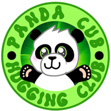 Panda Cub Hugging Clublogo square.png
