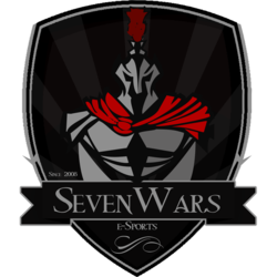 Seven Wars e-Sports logo (xxx 2014 - xxx 2014).png