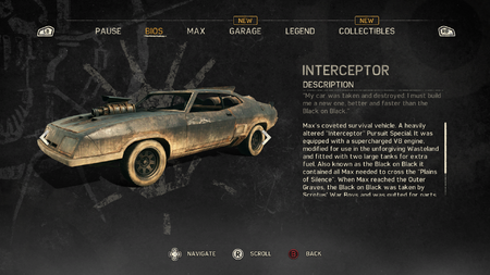 Interceptor Official Mad Max Wiki
