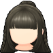 Hair icon Romantic Half-up Hair.png