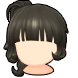 Hair icon Tussled Side Ponytail.png