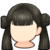 Hair icon Twin Bun Ponytails.png