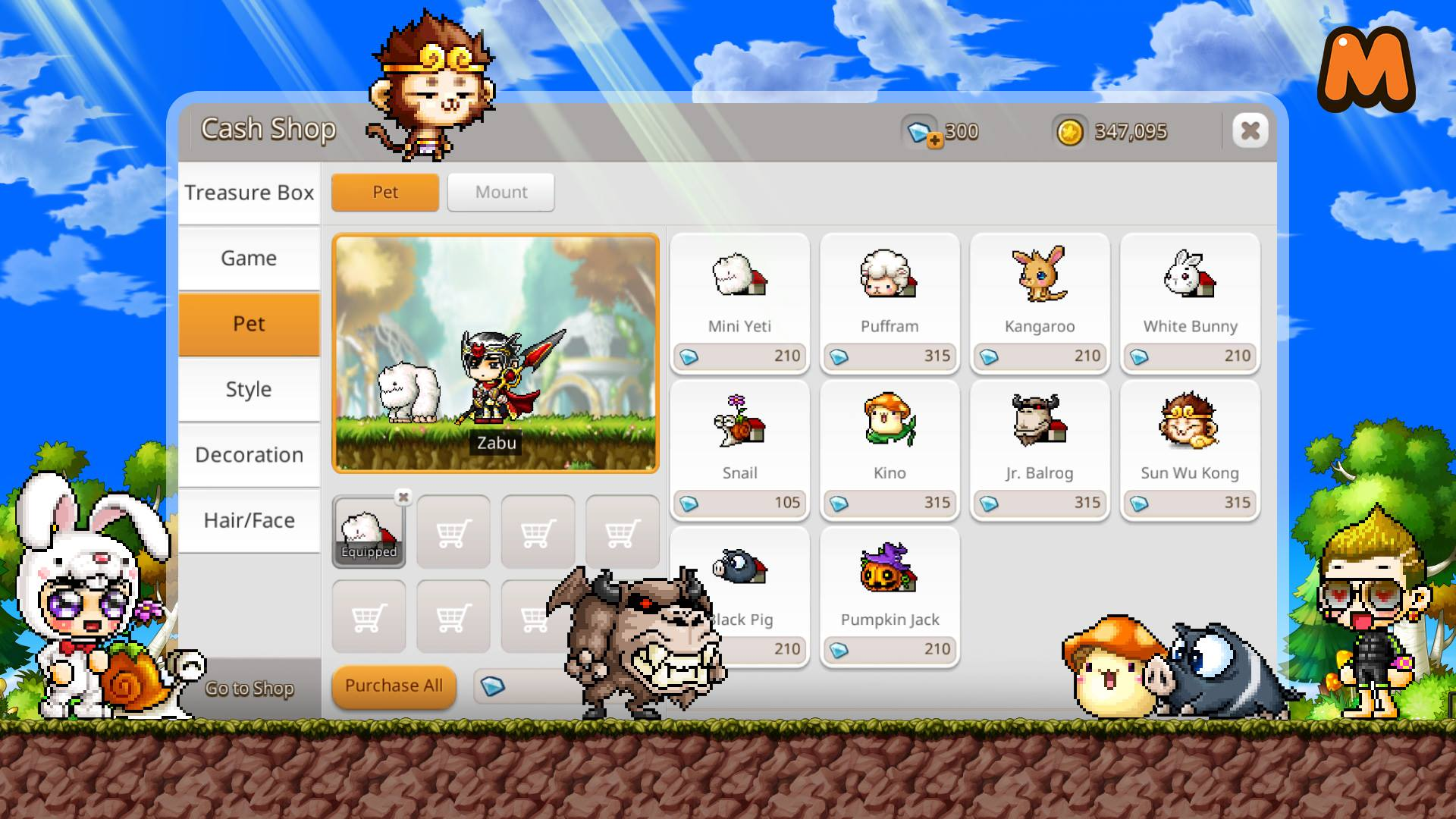 maplestory m weapon rank up stone