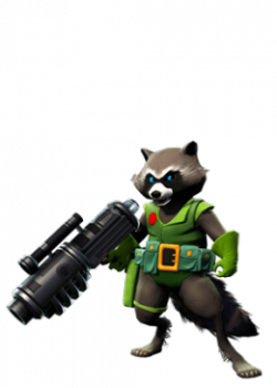 Rocket Raccoon original green.png