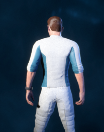 Casual Outfit - Short Sleeves - Back - Scott.png