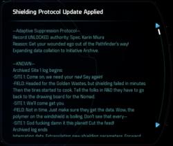 Shielding Protocol Update Applied