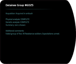 Detainee Group #6025