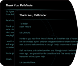 Thank You, Pathfinder