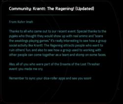 Community: Krantt: The Ragening! (Updated)