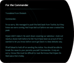 For the Commander