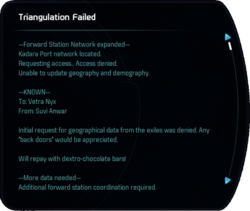 Triangulation Failed