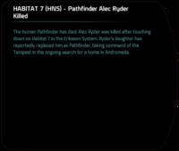 HABITAT 7 (HNS) - Pathfinder Alec Ryder Killed (daughter succeeds).png