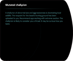 Mutated challyrion