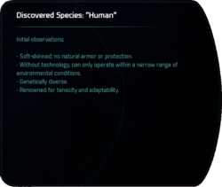 """Discovered Species: """"Human"""""""