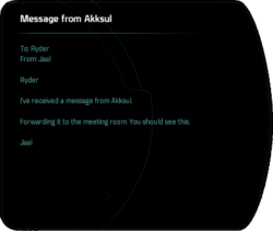 Message from Akksul