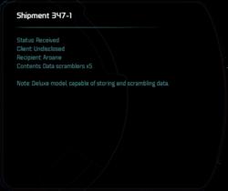 Shipment 347-1