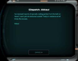 Dispatch: Akksul
