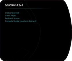Shipment 346-1